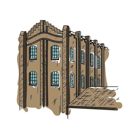 ilustració dibuix la farinera